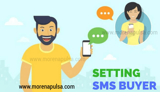 setting sms buyer pulsa gratis